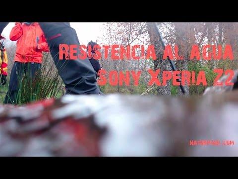 Sony Xperia Z2 - Resistencia al agua