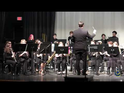 Rolesville Middle School 8th Grade Concert Band performs The Tears of Arizona on 3/19/2019