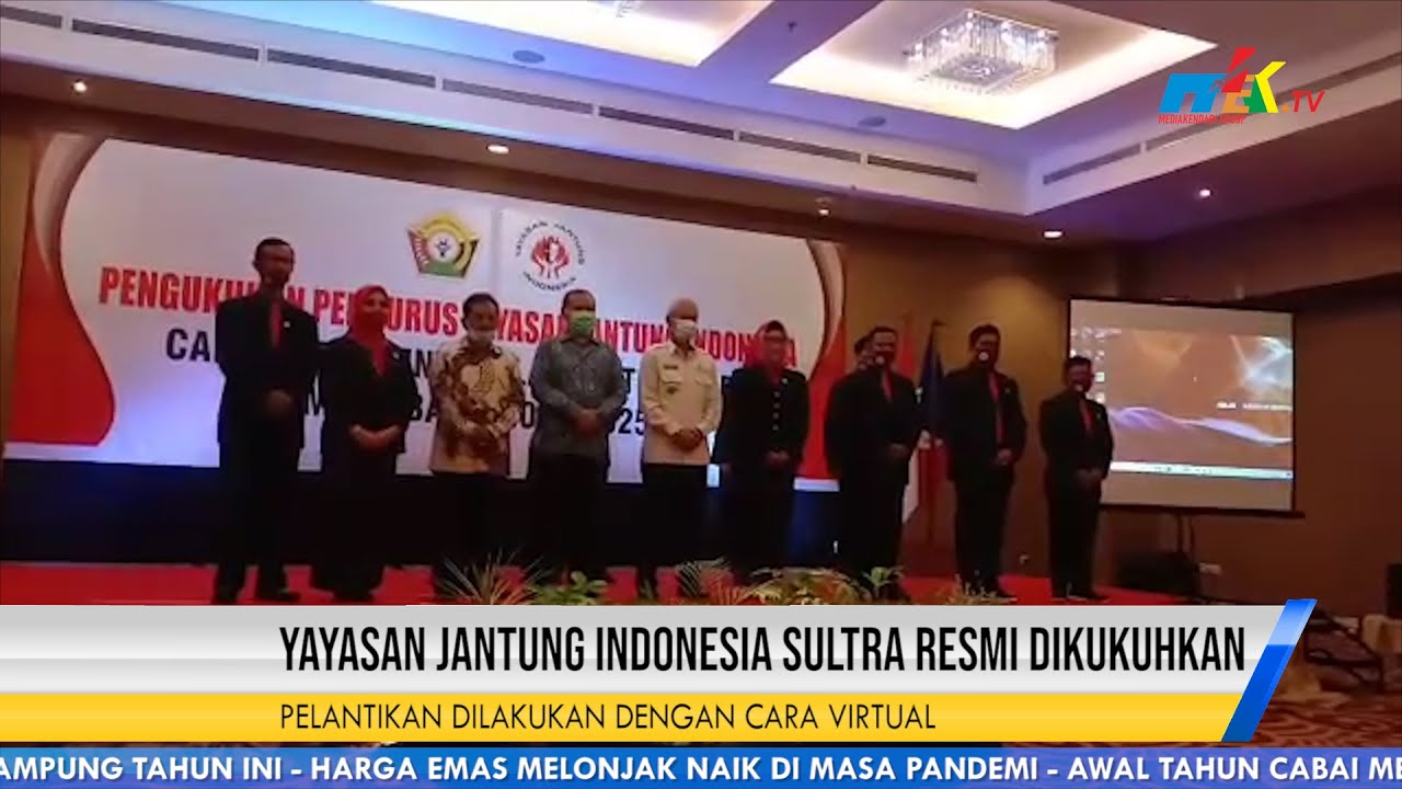 Yayasan Jantung Indonesia Sultra Resmi Dikukuhkan