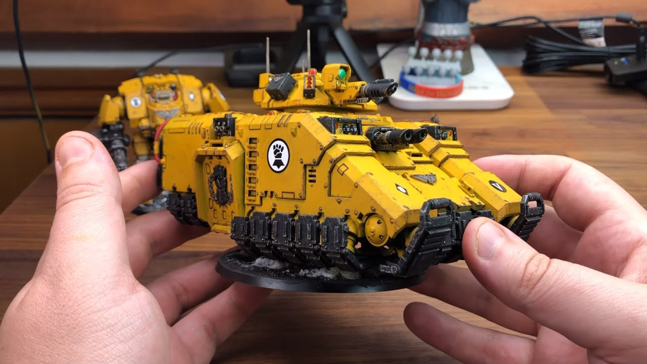 New primaris force imperial fists 2 youtube - Imperial fists 40k ...