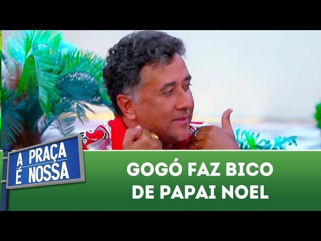 Gogó faz bico de Papai Noel | A Praça É Nossa (06/12/18)