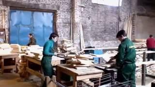 Вагонка деревянная сосна. Производство вагонки(На видео показан процесс производства вагонки деревянной. Как фасуют перед отправкой., 2016-09-26T09:05:27.000Z)