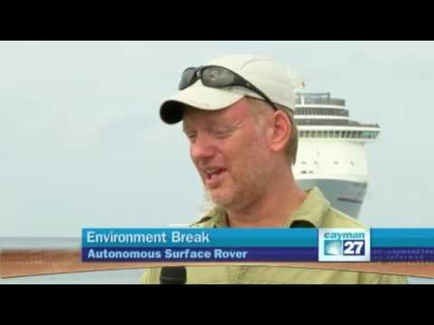 Reef Rover Featured on Local Cayman Island News