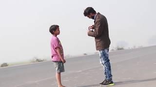 Help poor boy  in winter - a short inspirational film