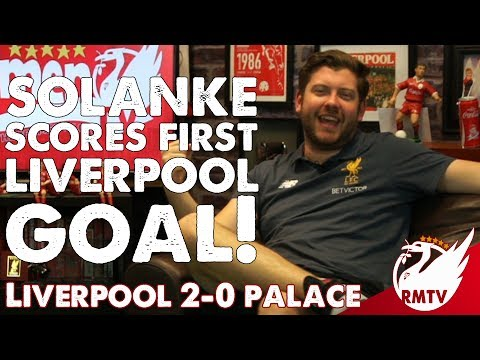 Solanke Scores First Liverpool Goal! | Liverpool 2-0 Crystal Palace | Uncensored Match Reaction