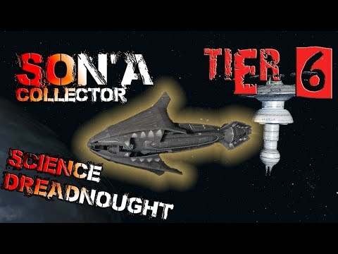 Son'a Collector Science Dreadnought [T6] – with all ship visuals - Star Trek Online