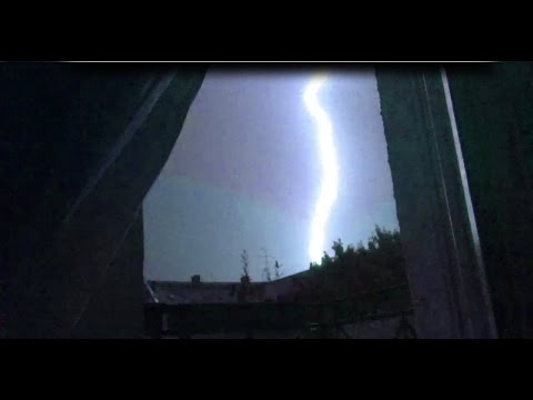 STRANGE SOUNDS around the world. Haarp in ACTION? Lightning Machine?? MASSIVE!!!