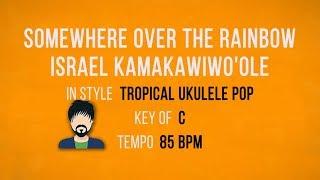 Baixar Somewhere Over The Rainbow - Israel Kamakawiwo'ole - Karaoke Backing Track - Male Singers
