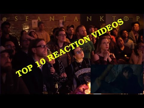 Top 10 reaction for Game of Thrones Season 8 x 3 ( Arya kills Night King )