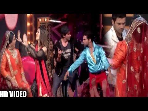 Hrithik Roshan ,Rajkumar Rao & Kriti Sanon On Set Of Lip Sing Battle    Bollywood Events