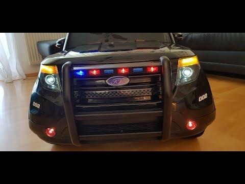Police Suv Car Polizeiauto Elektroauto Youtube