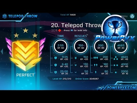 Velocity 2X - Perfect Medal Walkthrough Level 11-20 (FuturLab Certified Trophy Guide)