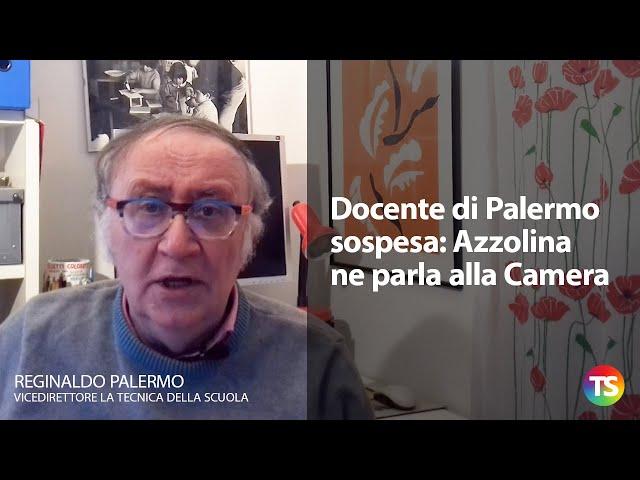 Docente di Palermo sospesa: Azzolina ne parla alla Camera