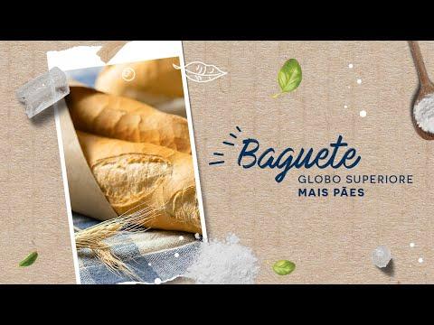 Baguete — Globo Superiore Mais Pães