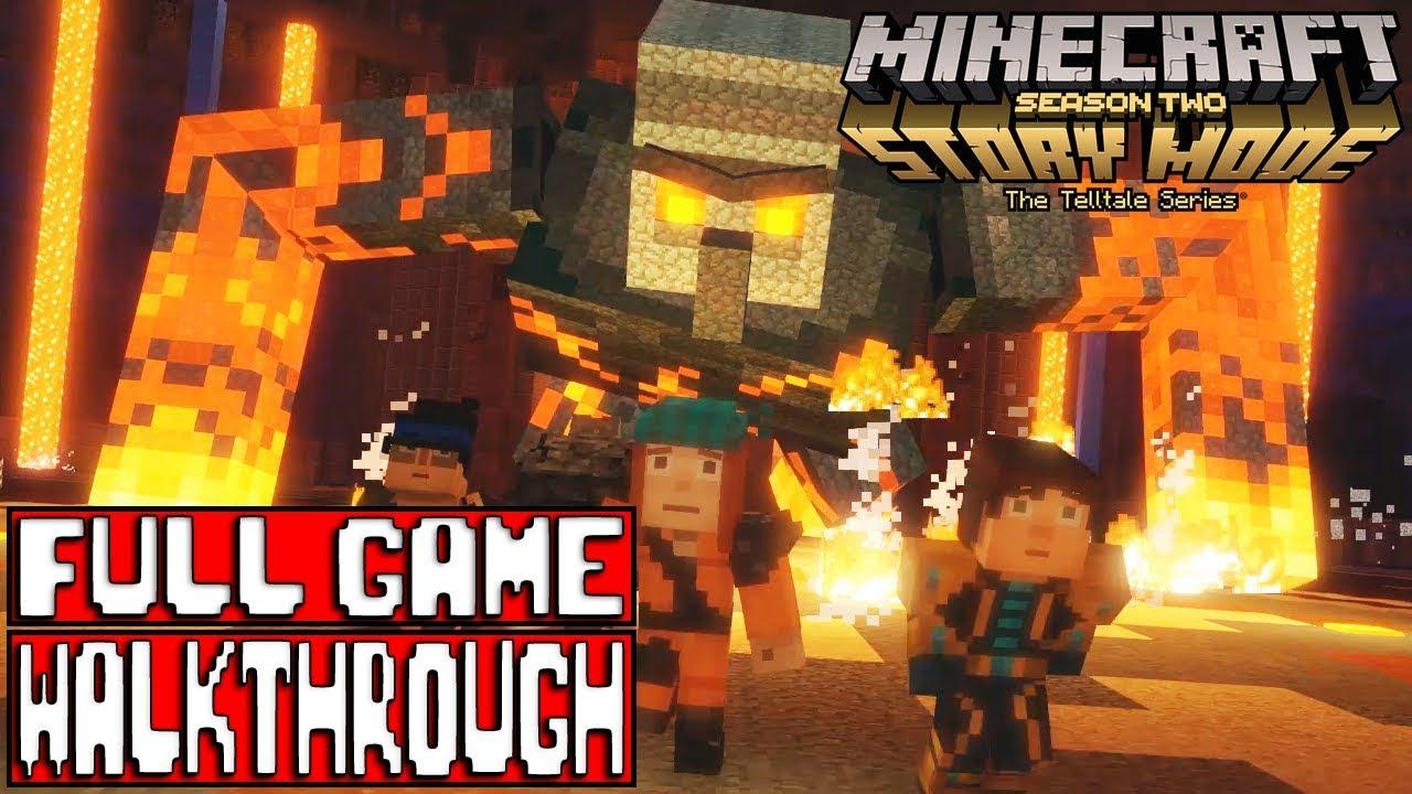 minecraft story mode season 2 episode 4 full game