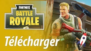 How to download Fortnite Battle Royale on PC Free in French FULL TUTO!!! [PUBG]