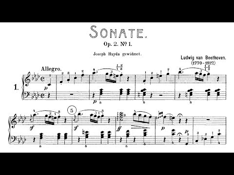 Beethoven: Sonata No.1 in F Minor, Op.2 No.1 (Kovacevich, Lewis, Buchbinder)