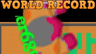 BRAAINS.IO WORLD RECORD BIGGEST ZOMBIE!! // Glitching Out of the Map