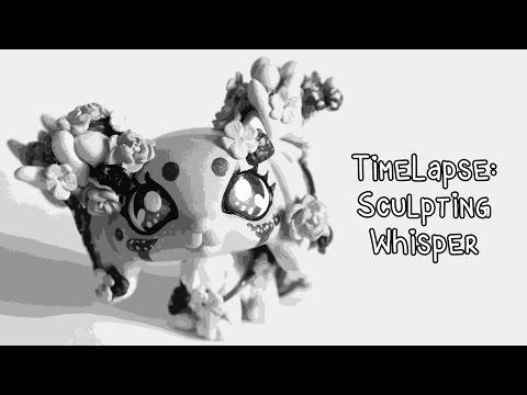 Timelapse: Sculpting Whisper (Wood Elemental OC) LPS custom