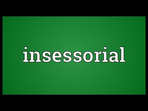 Header of insessorial