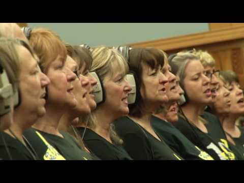 Reigate & Horsham Rock Choir Live at Abbey Road Studios - Someone Like You