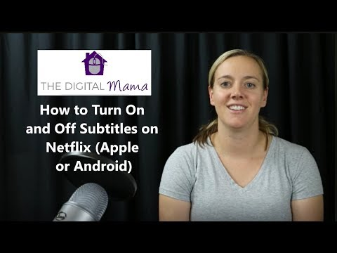 How to Turn On and Off Subtitles on Netflix Apple or Android