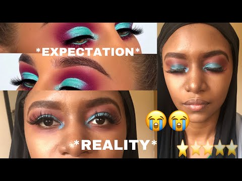 I WENT TO THE WORST REVIEWED MAKEUP ARTIST IN MY CITY ! NIGERIA
