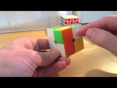 Last Layer / Top Layer 2x2 Rubik Cube Algorithm
