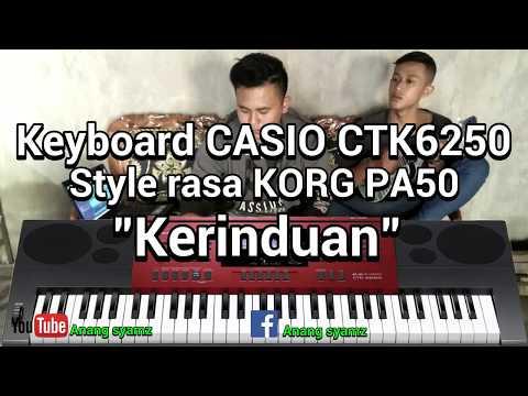 Style CASIO CTK6250 rasa korg