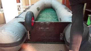 Транцевые колёса для надувных лодок ПВХ(Транцевые колеса для лодок ПВХ ООО