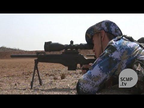 First PLA live ammunition drill in Djibouti