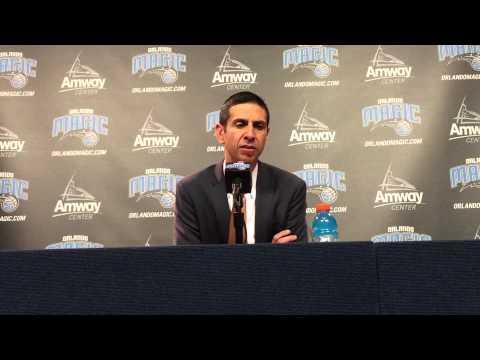 James Borrego Postgame Press Conference 3/4/15 vs Suns
