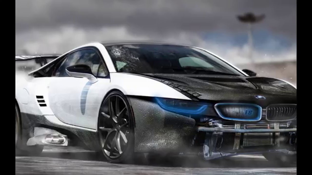 speedart bmw i8 blue electro virtual tuning rp design youtube. Black Bedroom Furniture Sets. Home Design Ideas