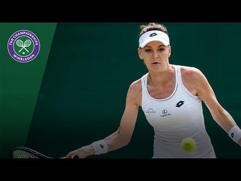 Agnieszka Radwanska v Christina McHale highlights - Wimbledon 2017 second round