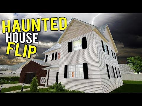 RENOVATING AND FLIPPING A HAUNTED HOUSE?! MAKING MILLIONS - House Flipper Beta Gameplay