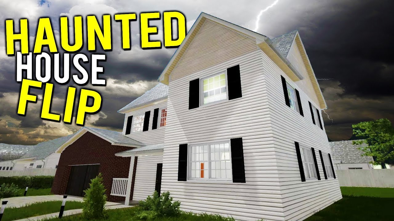 RENOVATING AND FLIPPING A HAUNTED HOUSE?! MAKING MILLIONS - House Flipper on
