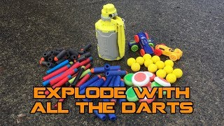 NERF GRENADE 2: TIMED EXPLOSION BOOGALOO | Walcom S7