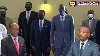 Militan Yofè Koukourouj Sou Kotèj Premier Ministre Lan Claude Joseph Aprè Demisyon Joute Joseph