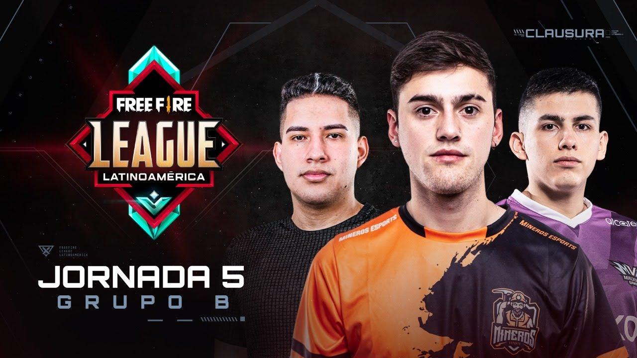 Free Fire League 2020 - Clausura | Grupo B | Jornada 5