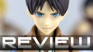 Figma 207 eren jaeger - attack on titan: shingeki no kyojin anime figure review 進撃の巨人  エレン・イェーガー