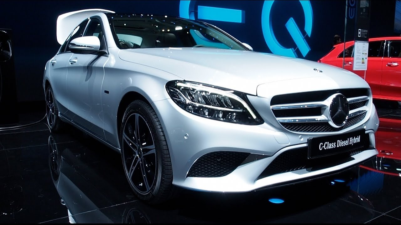 The All New Mercedes Benz C Class Diesel Hybrid 2018 In Detail