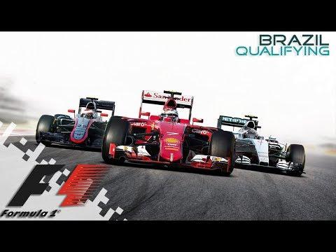 F1 2016 - BRAZIL - Qualifying!