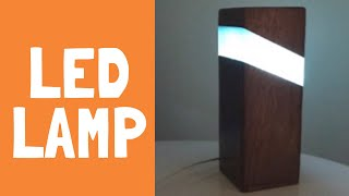 Make an EPOXY RESIN LAMP! EASY!