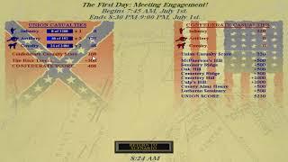 Sid Meiers Gettysburg - July 1st - A First Look - Part 1