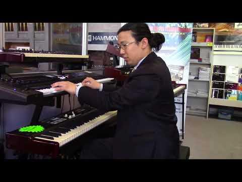 Hammond SK1 88 Demo | Lester from Bernies Music Land