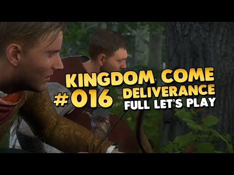 Kingdom Come Deliverance | Lass uns was richtiges Jagen 👑 #016 [Let's Play][PC][Deutsch]