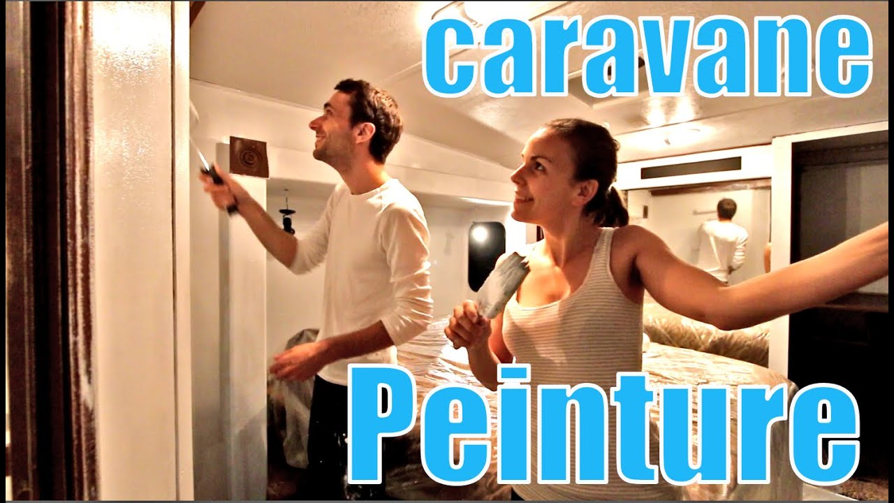peinture int rieur caravane youtube. Black Bedroom Furniture Sets. Home Design Ideas