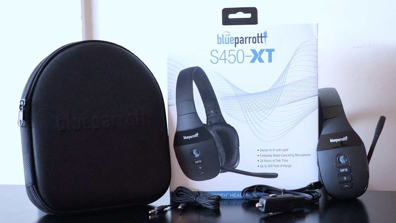 b367d2a9e57 Unboxing & Pairing Blue Parrott S450 XT Hands Free Headphones - YouTube