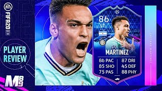 FIFA 20 TOTGS MARTINEZ REVIEW | 86 TOTGS MARTINEZ PLAYER REVIEW | FIFA 20 Ultimate Team