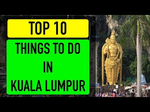 Top 10 - TOURIST SPOTS IN KUALA LUMPUR - Malaysia Truly Asia